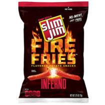 Slim Jim bivaly dühe tüzes krumpli chips