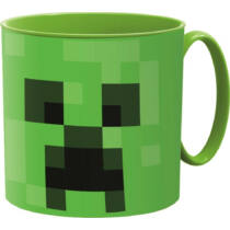 Minecraft Creeper műanyag bögre