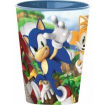 Sonic kicsi műanyag pohár