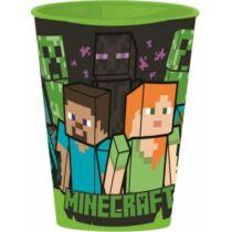 Minecraft kicsi műanyag pohár