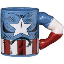 Marvel - Amerika kapitány 3D bögre