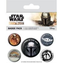 Star Wars: The Mandalorian kitűző szett