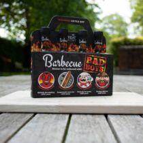 BBQ Bad Boys - 4 darabos csípős szósz szett
