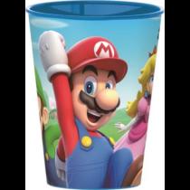 Super Mario kicsi műanyag pohár