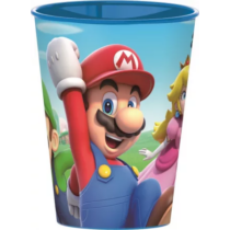 Super Mario nagy műanyag pohár