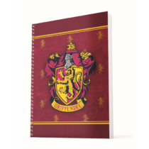 Harry Potter - Griffendél A4 spirálfüzet vonalas