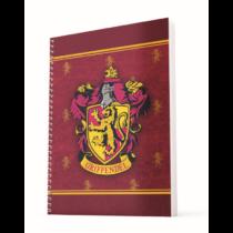 Harry Potter - Griffendél A4 spirálfüzet kockás