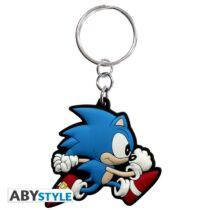 Sonic kulcstartó
