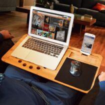 Lapzer laptop tartó deszka - 2 méretben