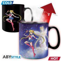 Sailor Moon nagyméretű hőre változó bögre