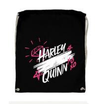 Ragadozó Madarak -  Harley Quinn aláírás tornazsák