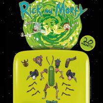 Rick és Morty hűtőmágnes szett