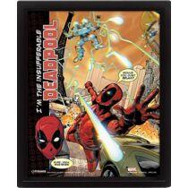 Deadpool 3D falikép