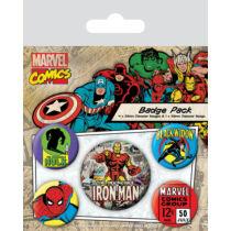 Marvel Comics kitűző szett