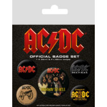 AC/DC kitűző szett