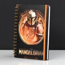 The Mandalorian  spirálfüzet, A5