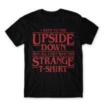 Stranger Things Upside down férfi póló