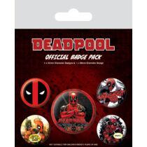 Deadpool kitűző szett
