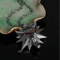 The Witcher 3: Wild Hunt - nyaklánc és medál Led fénnyel