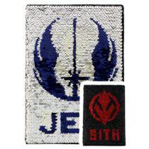 Star Wars - Jedi - Sith flitteres füzet