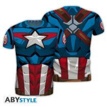 Marvel - Amerika kapitány férfi póló