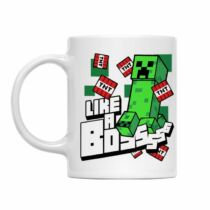 Minecraft - Like a Boss - Creeper bögre