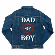 God of War - Dad of boy unisex farmerkabát