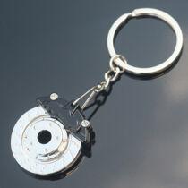 Féktárcsa kulcstartó