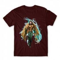 Aquaman logó férfi póló