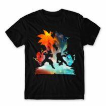 Dragon Ball Fight férfi póló