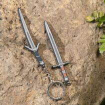 The Witcher - Vaják kardok gumi kulcstartó