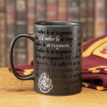 Harry Potter - Inkább lennék a Roxfortban felíratú bögre