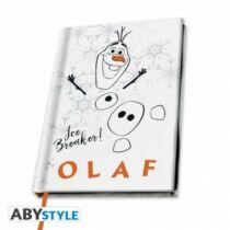 Disney - Jégvarázs 2 - Olaf A5 jegyzetfüzet