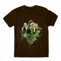 A gyűrűk ura - Hobbitok férfi póló