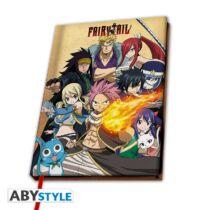 Fairy Tail jegyzetfüzet