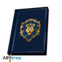 "World of Warcraft - ""Alliance"" jegyzetfüzet"