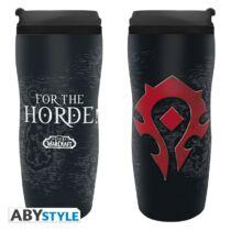 """World of Warcraft - """"Horde"""" utazó bögre"""