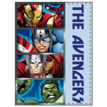 Marvel - Bosszúállók plüss takaró