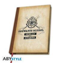 Harry Potter - Hogwarts School vonalas A5 jegyzetfüzet