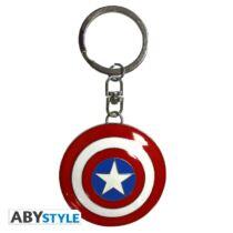 Marvel - Amerika kapitány pajzsa 3D kulcstartó