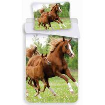 Barna ló és csikója ágyneműhuzat
