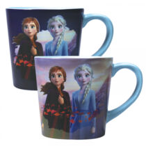 Jégvarázs Elsa és Anna - My destiny's calling - hőre változó bögre