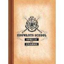 Harry Potter - Hogwarts School vonalas A5 füzet