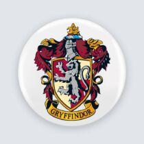 Harry Potter - Griffendél logó kitűző