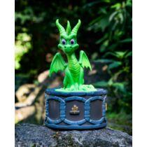 Spyro The Dragon - füstölő tartó - zöld limitált kiadás