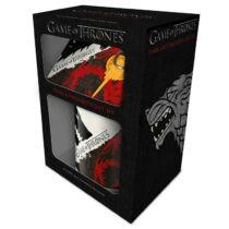 Trónok Harca Stark és Targaryen ház ajándékcsomag