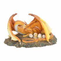 Sárkány és tojásai szobor
