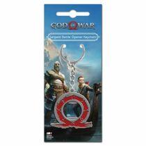 God of War Kígyó - sörnyitós kulcstartó