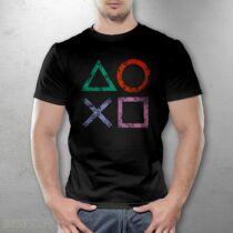 Playstation férfi póló