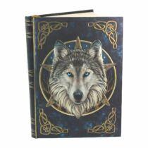 Dombornyomott farkas fej napló